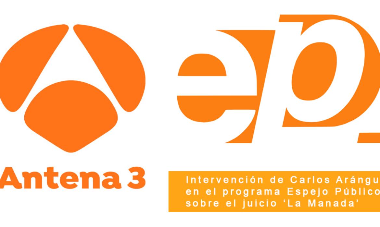 Intervención de Carlos Aránguez en Espejo Público (Antena 3)