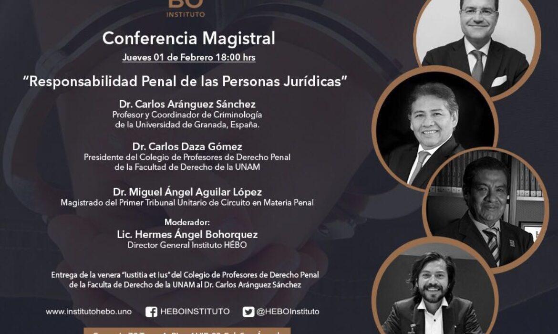 Conferencia de Carlos Aránguez en México