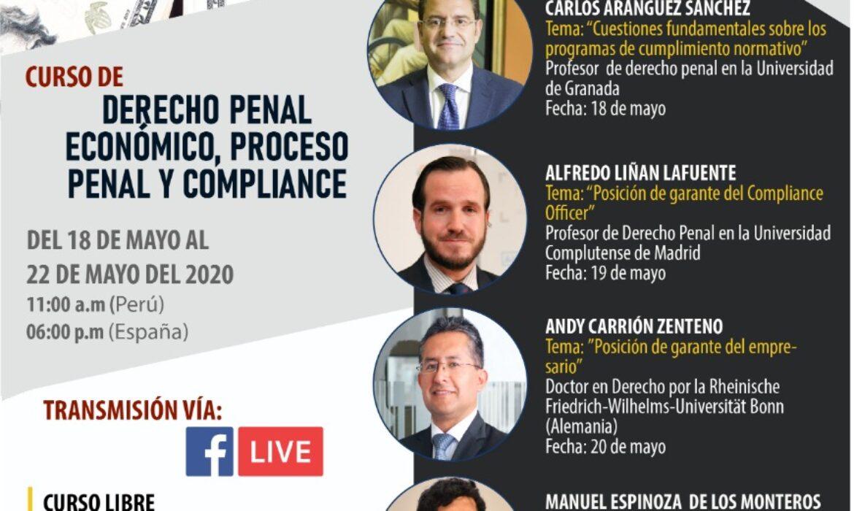 Curso de Derecho Penal Económico, Proceso Penal y Compliance