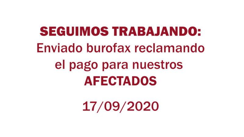 Estafa Arbistar: Enviado burofax reclamando el pago para nuestros afectados