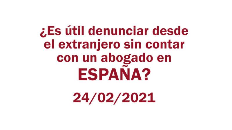 Estafa Arbistar: ¿Es útil denunciar desde el extranjero sin contar con un abogado en España?